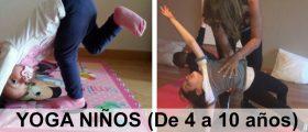 Yoga niños. Viernes 9 mar...