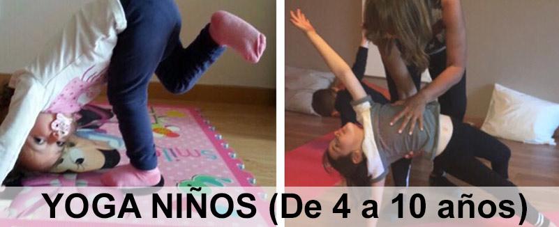 Yoga niños. Viernes 9 marzo. De 18:30 a 20h