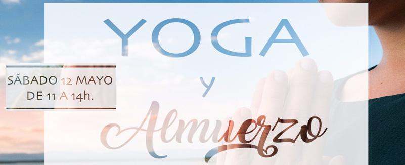 Primer Yoga Brunch. Sábado 12 de Mayo. De 11 a 14h