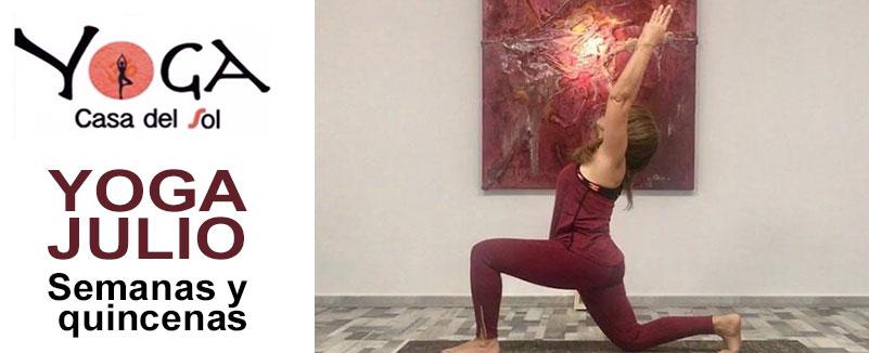 Yoga en julio