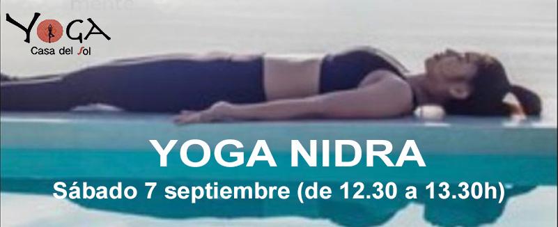 Yoga Nidra. Sueño Consciente