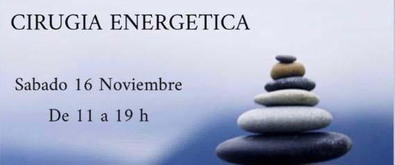 TALLER DE CIRUGÍA ENERGÉTICA 16 NOV.
